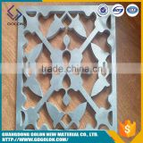 Hiway china supplier perforated aluminium perforated panels