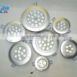 3w 5w 7w turnable led ceiling light high power beads ceiling light led flat ceiling light with spring