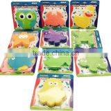 pvc anti slip animal mini bath mat non slip bathroom tub safety mat with suction cup