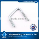 High quality strength zinc plated din 3570 u-bolt good price ningbo fastener suppliers manufacturers exporters