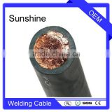 Flexible Rubber 95mm2 Copper Strands Cable Welding