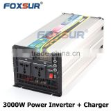 3000W LED display battery and output voltage 12V 110V/220V UPS Modified Sine Wave Power Inverter with smart Battery Charger