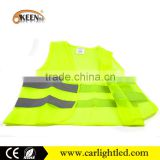2016 latest design high visiblity traffic safety en20471 3m running reflective vest cloth