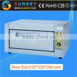Guangzhou single deck stainless steel bakery industrial electric mini oven thermostat for used bread