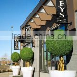 large size factory direct sale customize artificial topiary boxwood tree grass ball bonsai