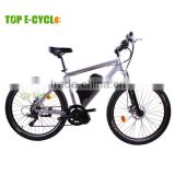 26 inch Aluminium Alloy Unique Design 7-Speed Gear CE Certificate Mountain E Bicycle With Lithium Battery                                                                         Quality Choice