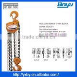 High Quality Heavy Duty chain pulley blocks for construction hoist Manufacturer                                                                         Quality Choice