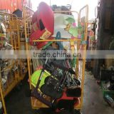 Used kick board with mixed plastic products toys, baby items...by 40 FT HQ container exported from Japan TC-009-47