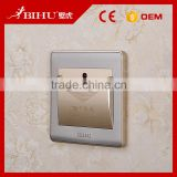 Hotel energy saver card switch Inserting Key card switch for room power