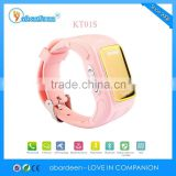 GSM Quad Band GPS Tracker Watch Phone Clock Wrist Watch Gps tracking Device for Kids Gps Watch