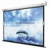 "Glass Beaded 100 "" 120"" 16:9 Electric Projection Screen With Wireless Remote/Motorized Screen RF Remote Control"