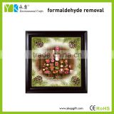 Wholesale wooden wall hanging picture frames,Christmas hanging decoration,wooden bed picture