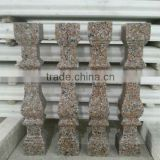 Granite and marble marble decorative items, stone pillars columns, stone railing balustrade