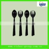 Hot selling fda bpa free popular disposable small plastic spoon and fork china manufacturer