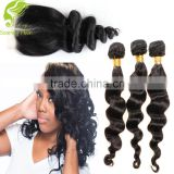 Thick Bottom 30g Remy Double Drawn Hair Extension easy hair pieces
