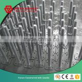 Hot dipped galvanized adjustable jack base