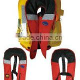 Automatic Manual Inflatable Life Jacket with oral tube front zipper