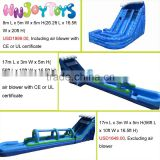 2016 HOT sale commercial slip n slide,giant inflatable water slide for adults,inflatable slip slide for sale