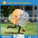 10 years industry experience manufacturer direct PVC/TPU inflatable ball/bubble soccer tpu material human bumper soccer ball
