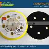 Sanding Pad 5 hole with Velcro