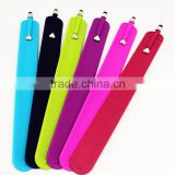 Cheap Silicone Slap Bracelet Stylus Pen Wholesale ,Silicone Slap Bracelet Screen Touch Pen