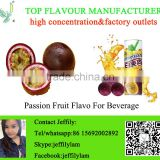 Good quality passion fruit flavour for soft drink making,high concentration fruit flavour for beverage