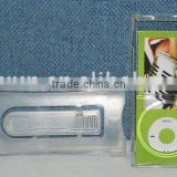 Crystal Case for Ipod Nano 4th(with close-fitting clip)