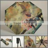 "23""x8K 3 fold Automatic open and automatic close umbrella"
