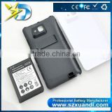 Phone Replacement Extended Backup Thicker 5000mAh Battery with Back Cover For Note I9220