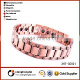 Health energy pure brass magnet copper magnet bracelet