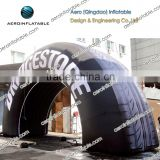 Large tires inflatable arch/Advertising inflatable arch/Inflatable Arch for Advertisement