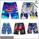 Fashion Summer Dye Sublimation Printed Quick-dry Sports Surf Boardshorts Board Swim Pants Custom Beach Short For Men