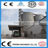 Grain storage steel silos, steel structure building silo, 100 ton cement steel silo, flat bottom steel silo