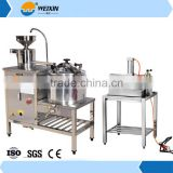 Stainless Steel Tofu Press Making Machine / Soybean Milk Maker Price