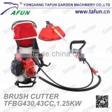 Chinese design Metal blade garden grass cutter machine