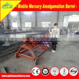 Gold mercury amalgamation machine