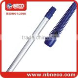 With ISO Certification factory supply 120cm length pvc coated wooden broom stick for floor cleaning tools