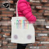Pattern Printing Beach Bags Casual Tote Bag Daily Use Canvas Handbags