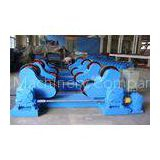 5T Self Centering Tank Rotators pipe turning roll with Servo drive / Rubber Roller
