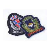 Custom Embroidered Military Patches Beret Cap Badge , Cool Military Hat Patches