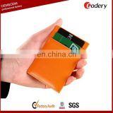 2014 Hot selling business card holder pu leather