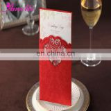 ACW2007 Red Stock Lovely Wedding Invitations Cards