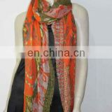 2013 spring fashion scarf with pearl printing (JR90-1)