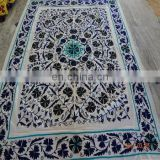 Uzbek Bed Sheet Indian Cotton suzani Embroidery Bed cover Bedspread Pillow Cover