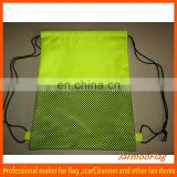 wholesale football team mesh drawstring bag