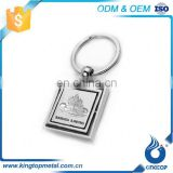 Fancy Decoration Different Countries Logo Custom Gold Car Key Chain 3D Keychain With Hook