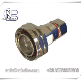 RoHS 7 / 16 DIN Male RF Feeder Connectors made by fined copper for 1 / 2