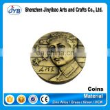 custom cheap price old vintage gold metal coin