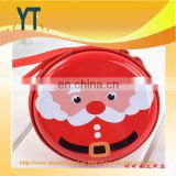 Hot Sale!!!Merry Christmas baby accessories matel pacifier box/custom high quality Electrical packaging baby dummy pacifier case