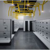 golf club storage lockers